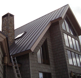 Maine Metal Roof Installation